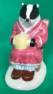 Royal Albert Porcelain Figurine 'Badger' AW2 Wind In The Willows Series