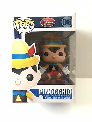 Pinocchio Funko Pop #6 series 1 Retired Vaulted Disney Store Red Label