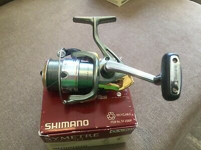 Shimano Symetre 2500 FI Spinning Reel and Spare Spool