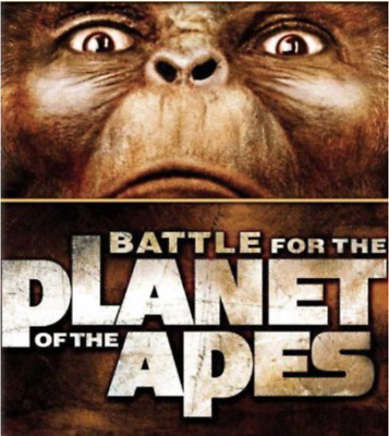 16mm Feature Film: BATTLE FOR THE PLANET OF THE APES (1973) Sci-Fi - SCOPE