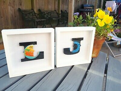 His & Hers Initials - Vinyl Art - Wedding or Anniversary Gifts