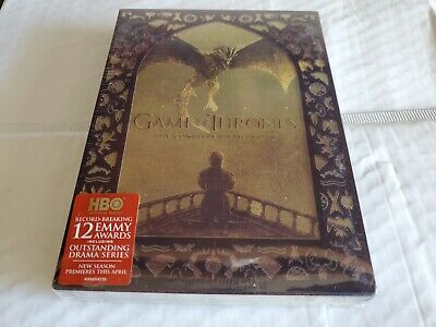 Game of Thrones: The Complete Fifth Season 5 (DVD, 2016, 5-Disc Set) USA