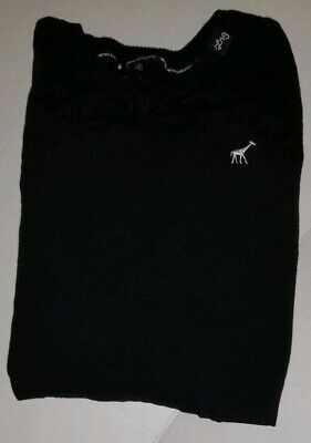 LRG (lifted research group) Black Sweater Size Small VNeck 5XL