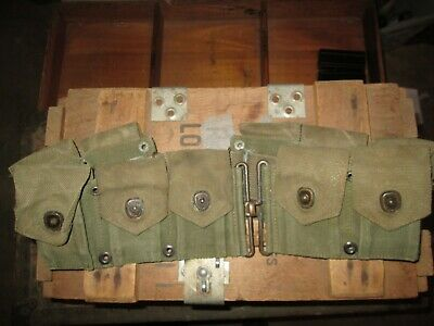 WWII WW2 M1 Garand Belt US ARMY ORIGINAL all snaps work