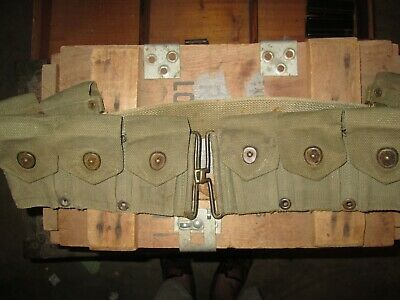 WWII WW2 M1 Garand Belt US ARMY  USMC ORIGINAL