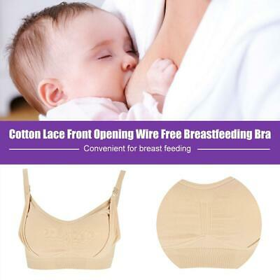 New Breathable Nursing Bra Breastfeeding Wire Free Maternity Pregnant Underwear