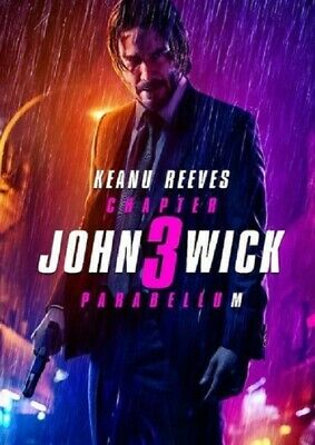 John Wick Chapter 3 Parabellum (Keanu Reeves Halle Berry) Three New DVD