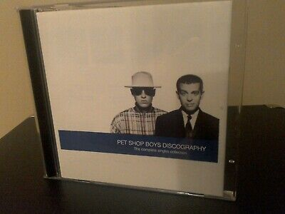 Pet Shop Boys Discography - The Complete Singles Collection CD