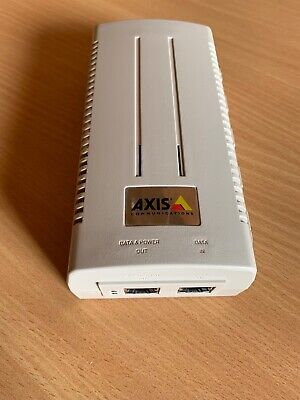 AXIS T8124 High POE power Injector 60W Midspan 802.3at GIGABIT 5016-001-01