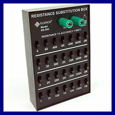 Resistance Substitution Box Range From 1Ω To 11 111 110MΩ 1% Precision 40Kω 1 Wa