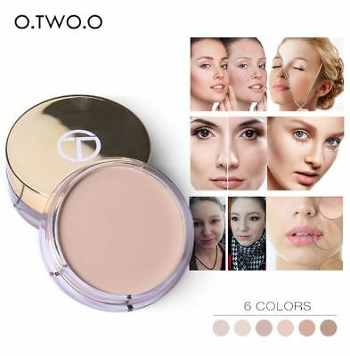 O.TWO.O Full Coverage Concealer Foundation Cream - 6 Shades - MU0005