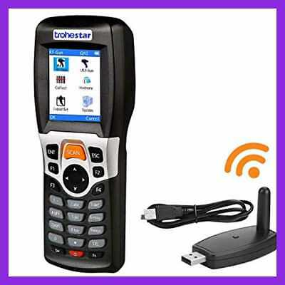 Wireless Barcode Scanner & Collector Portable Data Terminal Inventory D 1D Laser
