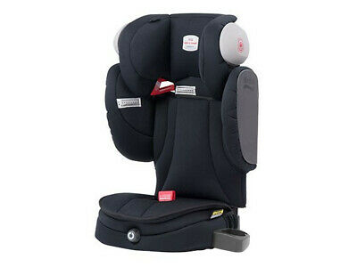 BRITAX SAFE-N-SOUND ENCORE 10 Grey/Black Booster Seat undamaged, 6 year warranty