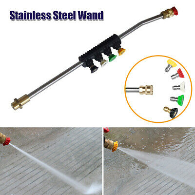 Car High Pressure Washer Wand Extension Adapter Replacement Lance For Karcher K