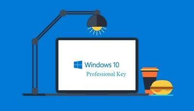 Windows 10 Pro Key Activation Code License Key + Download Link Fast Delivery