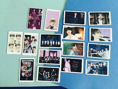 Bangtan boys BTS movie bring the soul official photocard ticket