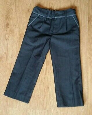 Next boys suit trousers age 3 years silver grey Very good condition