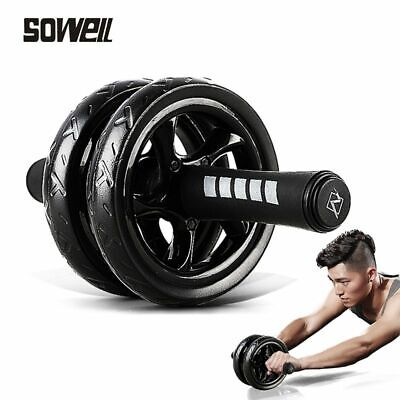 Double Wheel Abdominal Power Ab Roller Gym Roller Trainer Home Fitness Equipment