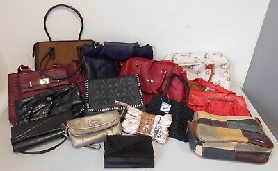 Job Lot Wholesale Mixed Womens Hand Bags RESELL CARBOOT BAG TRADER x14 Box 3