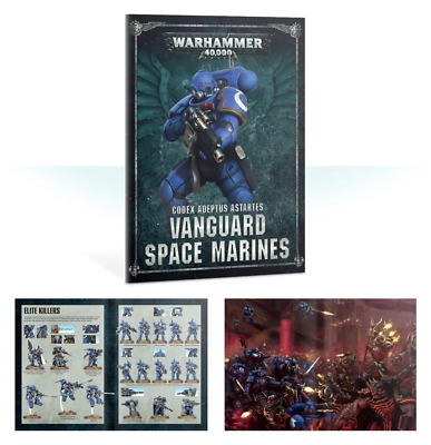 Warhammer 40000 Shadowspear Vanguard Space Marine Mini Codex New English