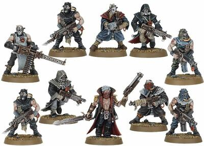 Warhammer 40000 Dark Vengeance Chaos Cultist With Autoguns And Heavy Stubber New