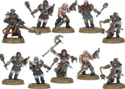 Warhammer 40000 Dark Vengeance Chaos Cultist With CCW And Heavy Flamer New