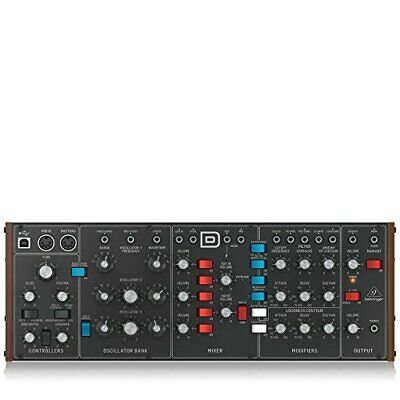 Behringer Model D Legendary Analog Synthesizer Keyboard+VCO MODELD FREE SHIP NEW