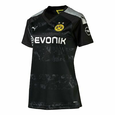 Puma Official Womens BVB Borussia Dortmund Away Football Shirt Jersey 2019-20