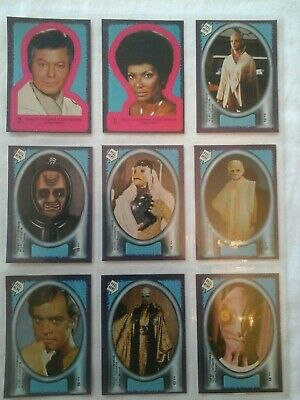 !979 Star Trek The Motion Picture Topps Complete Card And Sticker Set