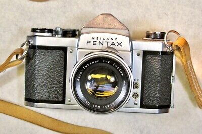 HEILAND PENTAX H2 w/ Auto-Takumar 55mm f/2 Lens,Tested and Working