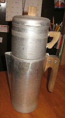 Older Original Wagner Ware MAGNALITE Drip-O-Later Coffee Pot Complete 4 Piece