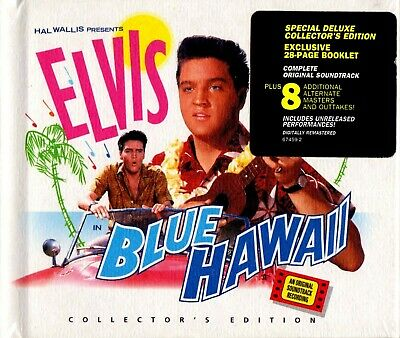 Elvis Presley-Blue Hawaii Limited Edition Deluxe Digibook CD 1997 Remastered RCA