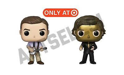 The Office Funko Pop Goldenface & Andy With Banjo Target Exclusive Set Preorder!