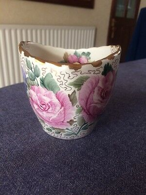 Hand Painted Ceramic Pot