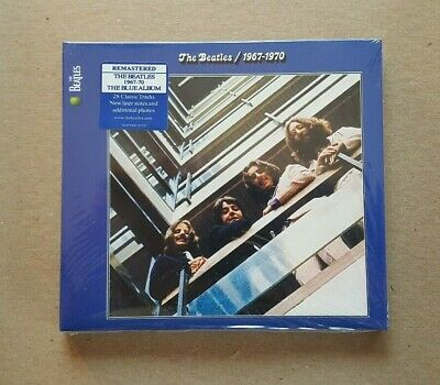 THE BEATLES - 1967-1970 (THE BLUE ALBUM) 2 Disc CD Apple Music NEW