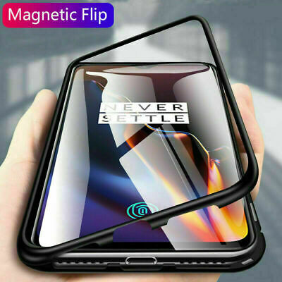 Samsung Galaxy Note 10 Plus Magnetic Adsorption Metal Tempered Glass Case Cover