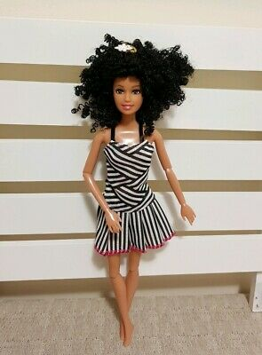 New doll stripe dress outfit daily clothes for your Barbie Au seller