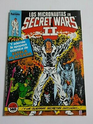 Secret Wars Nº 37 Comics Forum Estado Normal Mas Articulos