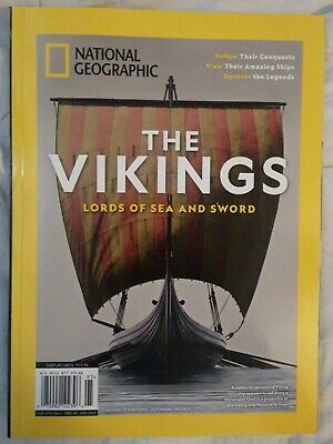 THE VIKINGS Lords of the Sea & Sword NATIONAL GEOGRAPHIC Magazine NEW
