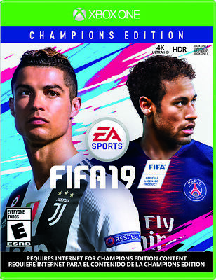 EA FIFA 19 Champions Edition for Microsoft Xbox One - Video Game Disc