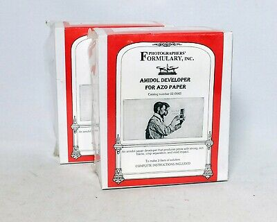 Amidol Developer For Azo Paper Photographers Formulary Inc NEW Makes 3 liters