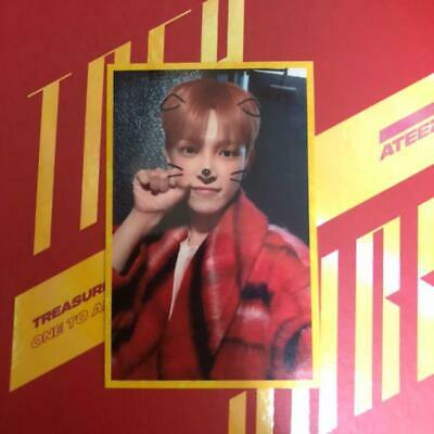 ATEEZ HONGJOONG Treasure EP.3 One to All broadcast official photocard