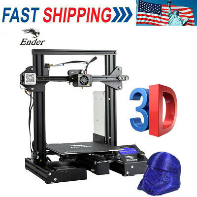 Creality Ender 3 Pro 3D Printer Magnetic Hot Bed Sticker 220x220x250mm DC US