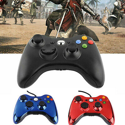 Wired Game Controller Gamepad 360 Console Joypad Joystick for XBOX 360 AU ZHM