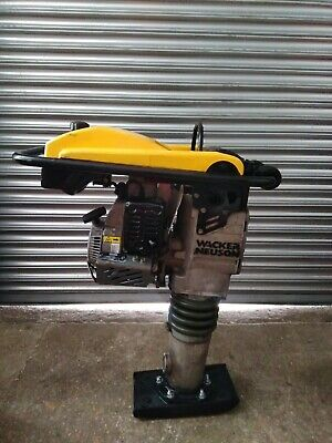 "WACKER NEUSON BS50-4 TRENCH RAMMER/PLATE (7"" Foot Wacker WM100 4 Stroke Engine)"