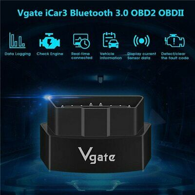 Vgate iCar 3 ELM327 WiFi OBD2 Car Diagnostics Scanner Tool For Android iOS