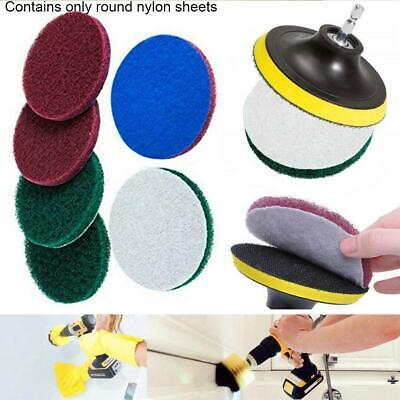Drill Brush Power Scrubber Scouring Scrub Pad Bathroom Tile Cleaning tablets