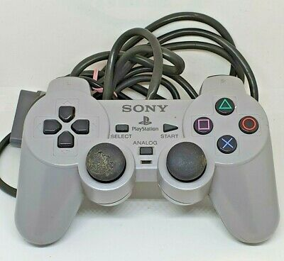 Official Sony Playstation One SCPH-1200 Analogue Controller PS1 - SOLD AS SEEN