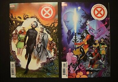 House X #1 & Powers of X #1 Regular Covers NM See Scans Marvel Comics 2019