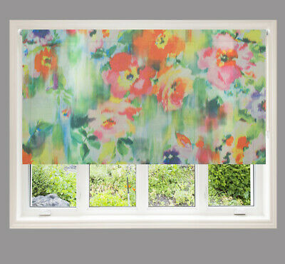 Tropical Sheer Roller Blind, Alteration Service Available